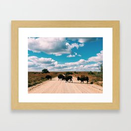Midwest Skies Framed Art Print