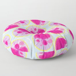 Watercolor Onion Stamps Floor Pillow