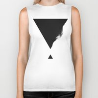 triangle Biker Tanks featuring Triangle by SUBLIMENATION