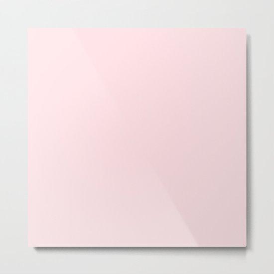 Simply Pink Flamingo Metal Print