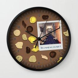 Qui a mangé mes chocolats ? Wall Clock