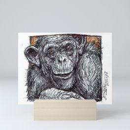 Bonobo Mini Art Print