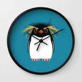 Rockhopper Penguin Wall Clock