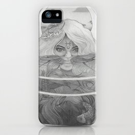 Pisces New Moon iPhone Case