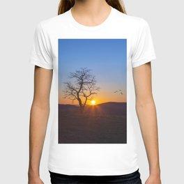 Sunset Over Buffalo Mountain T-shirt