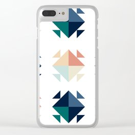 blocky Clear iPhone Case