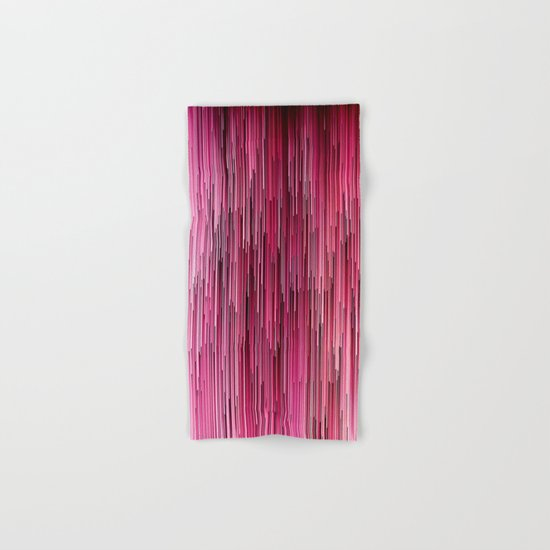 Planet Pixel Cotton Candy Pink Hand & Bath Towel