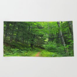 Forest 5 Beach Towel