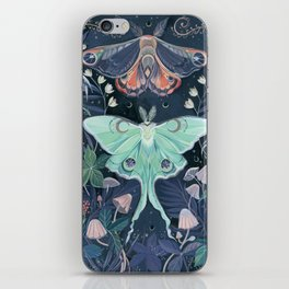 Luna Moth iPhone Skin
