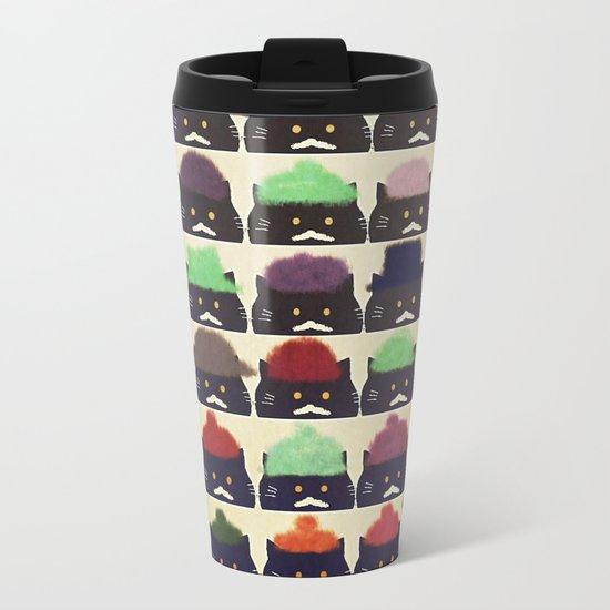 cats-384 Metal Travel Mug