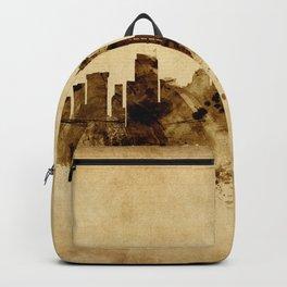 Seattle Washington Skyline Backpack
