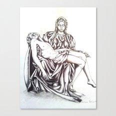 Piety Canvas Print