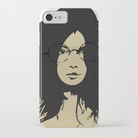 bookworm iPhone & iPod Cases featuring The bookworm by redstringstudios