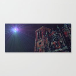 Blessed Coffee Canvas Print