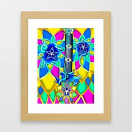 Fusion Keyblade Guitar #154 - Nightmare's End Reality Shift & Brightcrest Framed Art Print