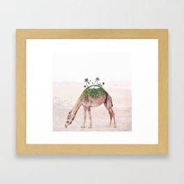 Moving Oasis Framed Art Print