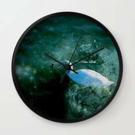 Stormy Waters Wall Clock