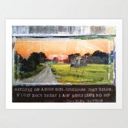 Little Juke Joint Art Print