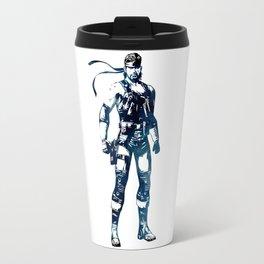 Solid Snake - Metal Gear Solid Travel Mug