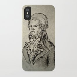 French Sketch I iPhone Case