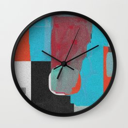 Meteoric Decline Wall Clock