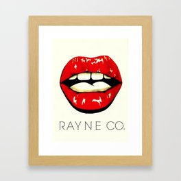 Kissable 2015 Framed Art Print