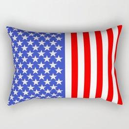 Stars and Bars Rectangular Pillow
