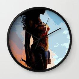Diana Prince 6 Wall Clock