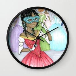 At The Masque Wall Clock