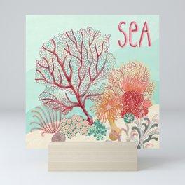 Sea Life- Picture 1 Mini Art Print