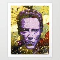 christopher walken Art Prints featuring Christopher Walken by Bobby Zeik