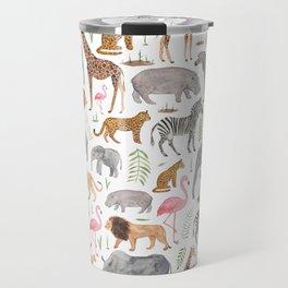 Safari Animals Travel Mug