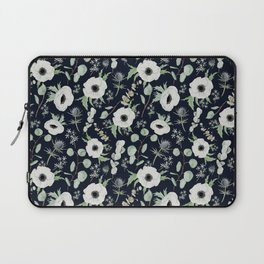 Moody Anemones Laptop Sleeve