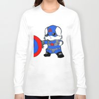 avenger Long Sleeve T-shirts featuring Avenger Dog by Rocky Moose