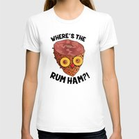 """always sunny T-shirts featuring It's Always Sunny  """"Rum Ham"""" by Lindsay Schoen"""