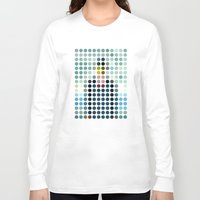 magritte Long Sleeve T-shirts featuring Rene Magritte by Gary Andrew Clarke
