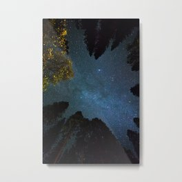Light and Magic 005 // Canopy of Stars Metal Print