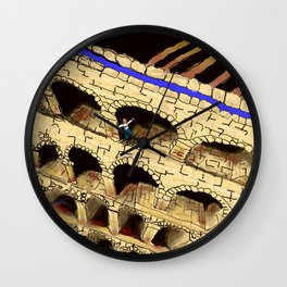 The Dreaded Aqueduct Wall Clock