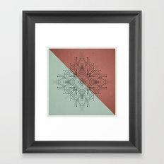 170112 / NON+ Framed Art Print