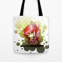 valentina Tote Bags featuring Valentina by ASerna