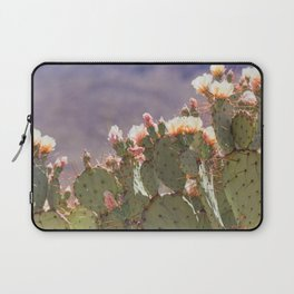 Prickly Pear Blooms I Laptop Sleeve