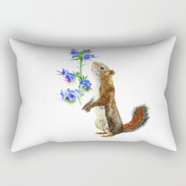 Take Time To Smell The Flowers by Teresa Thompson Rectangular Pillow
