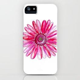 Pink Gerber Daisy iPhone Case