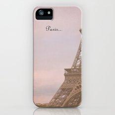 Paris... iPhone (5, 5s) Slim Case