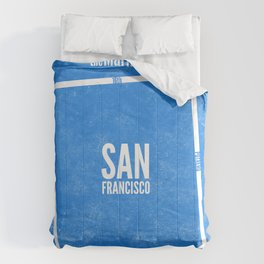 This is SF (Blue) Comforters