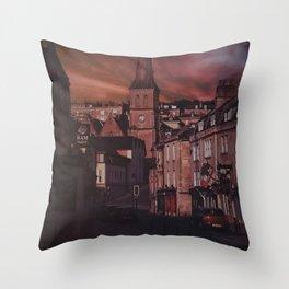 Bath Somerset Dream Sky  Throw Pillow