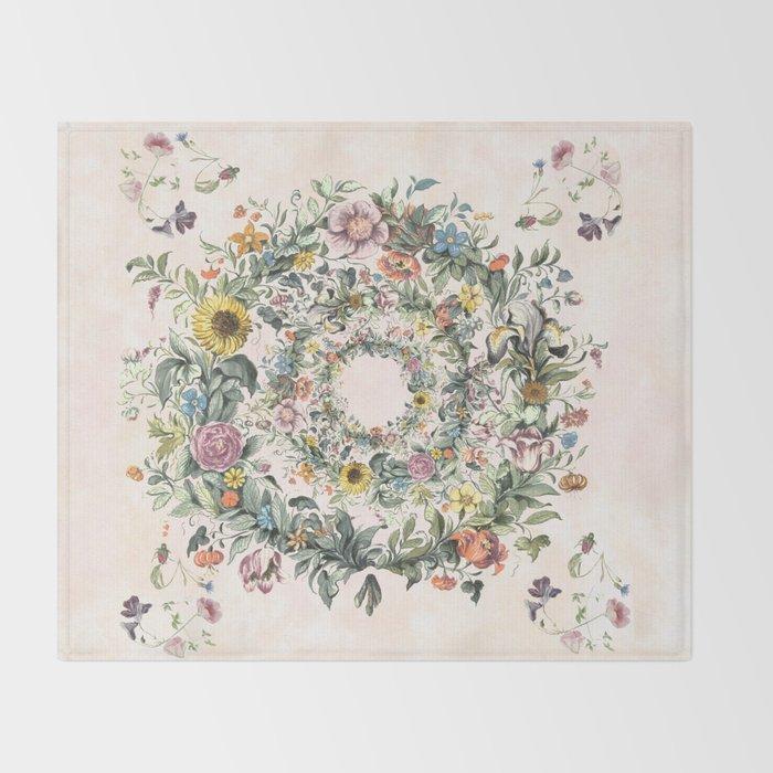 Circle of life Throw Blanket