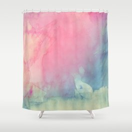 Rose and Serenity Shower Curtain