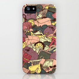 Hoarder iPhone Case