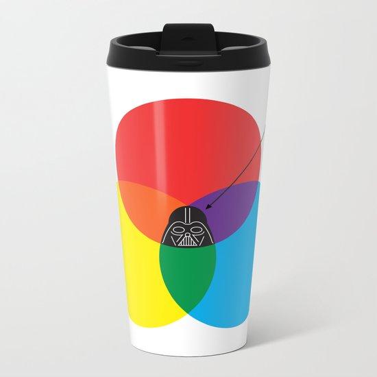 Dark Side Metal Travel Mug